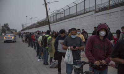 Cruce fronterizo Tijuana