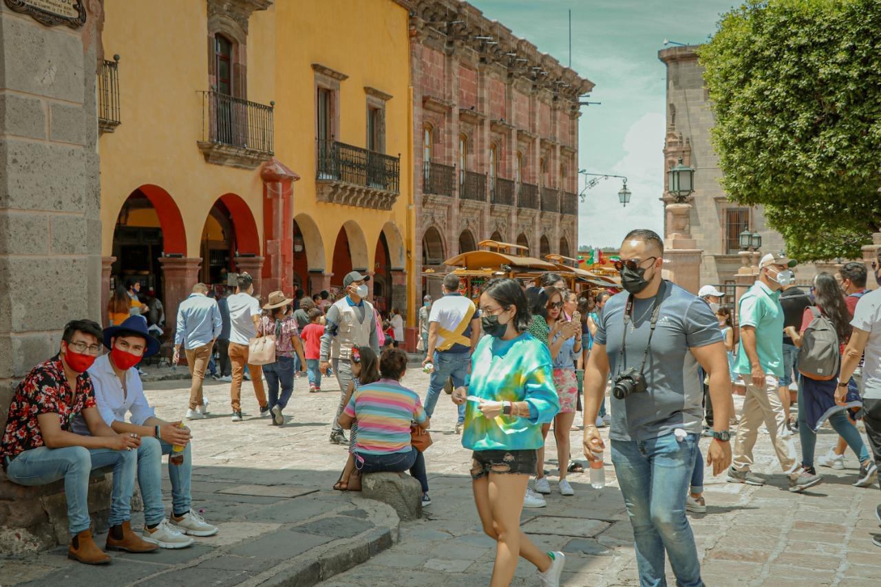 reactivación turismo San Miguel de Allende