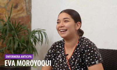 Eva Moroyoqui, enfermera asignada al programa Anticipa