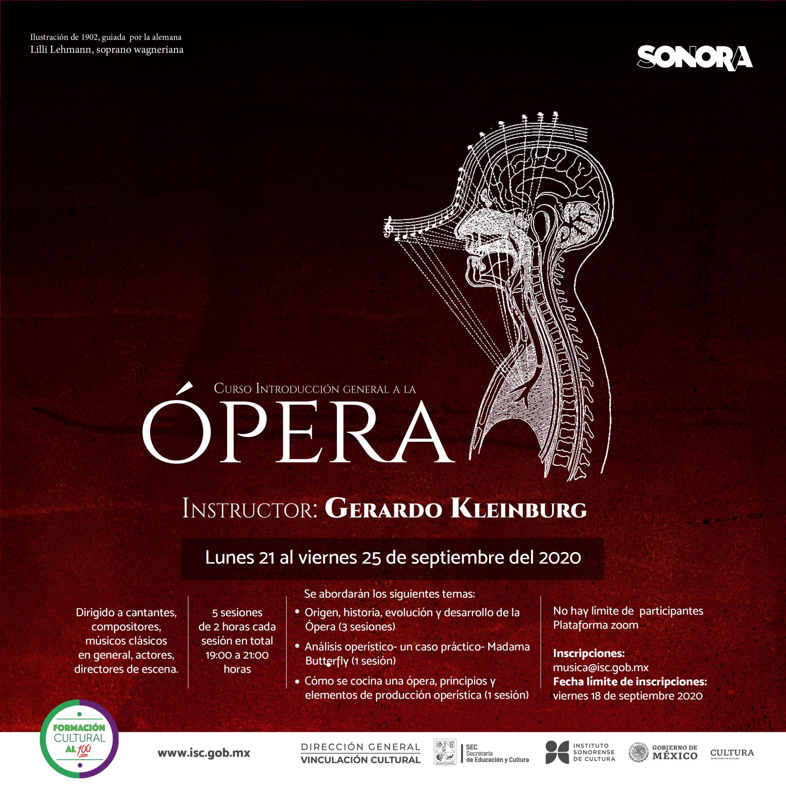 talleres gratuitos ópera