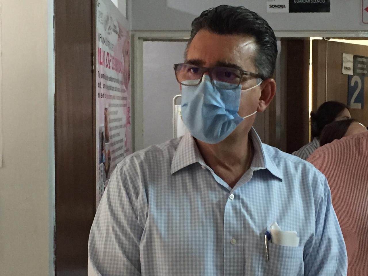 Enrique Clausen Iberri, secretario de Salud de Sonora