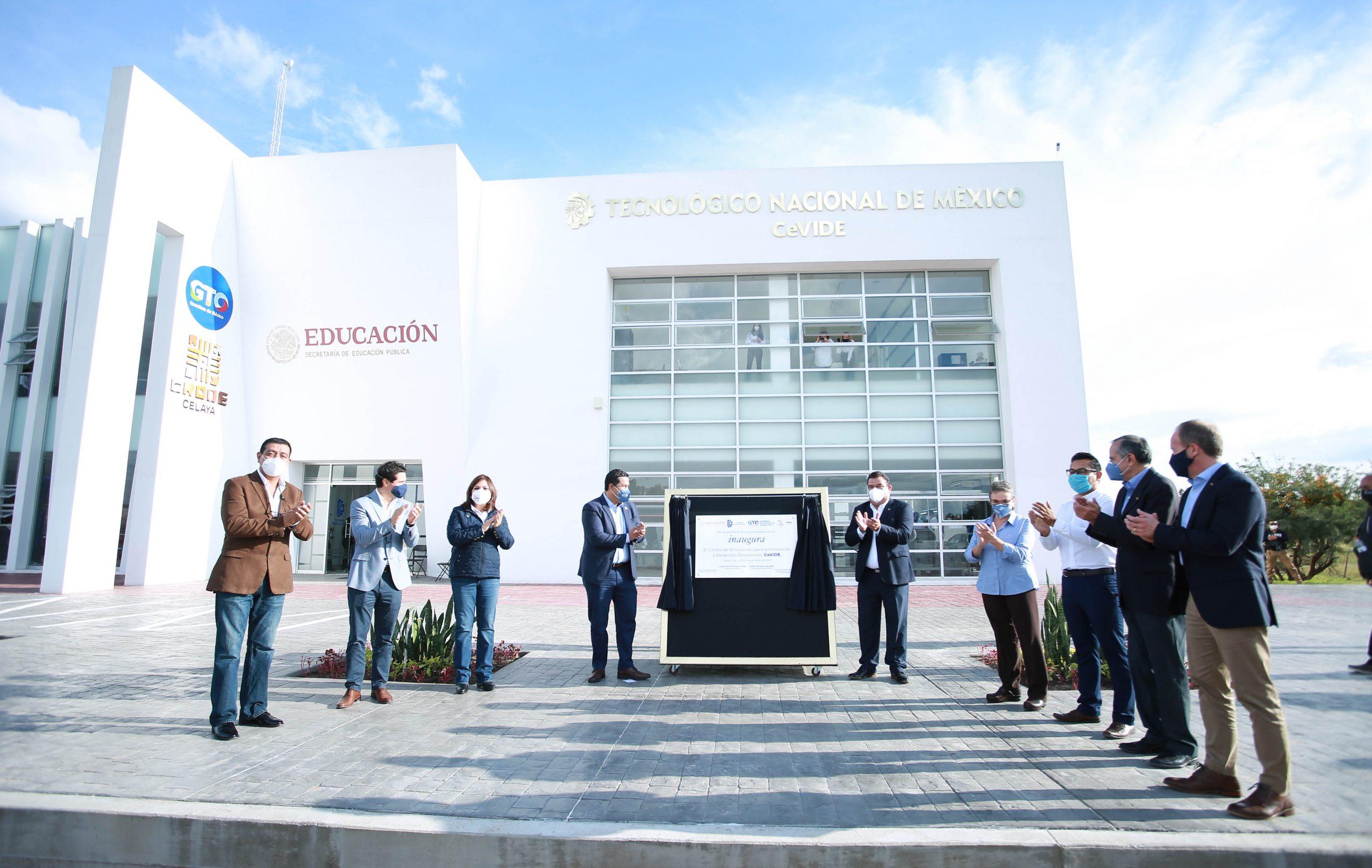 Inauguración de CEVIDE Celaya