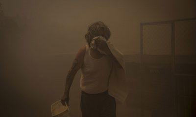 Incendios Tijuana aire