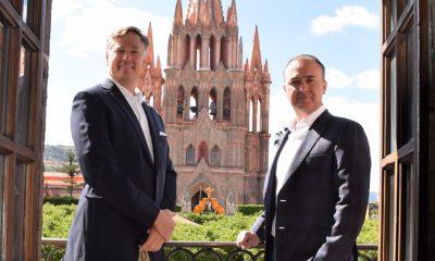 Cristopher Landau y Luis Alberto Villarreal