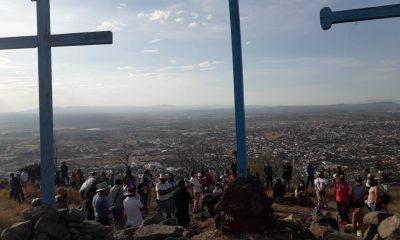 Obras cerro de las Tres Cruces