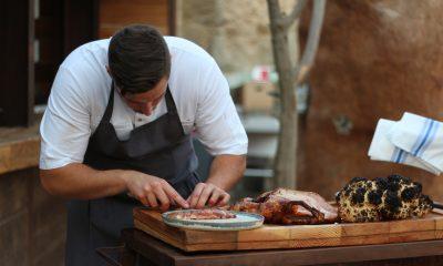 Imagen de hombre preparando comida