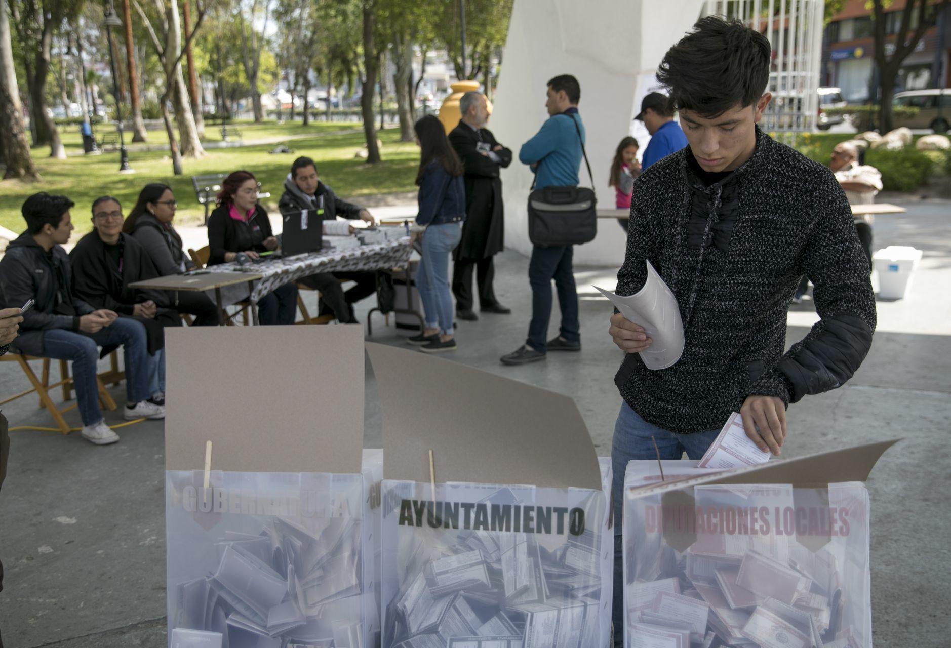 Candidatos indígenas en Baja California
