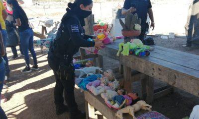 policías culiacán niños