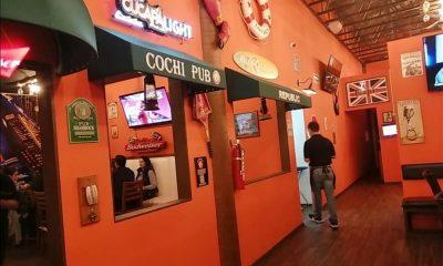 Baja California bares cierre