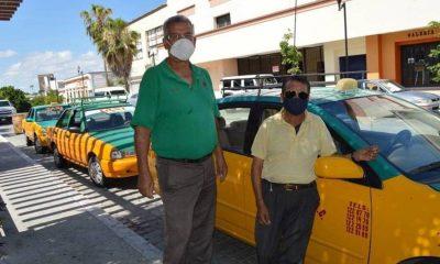 Taxistas de La Paz pandemia